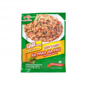 AJINOMOTO - Kra Phao (Thai Basil Stir Fry) 50g