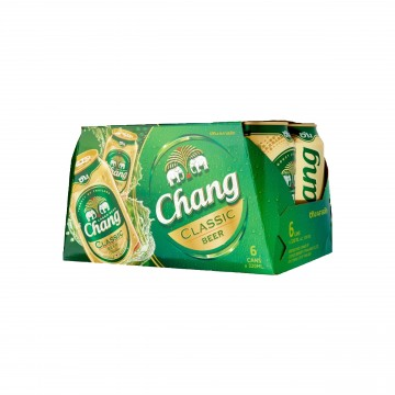 CHANG - CLASSIC CAN BEER 6 CANS X 320ML