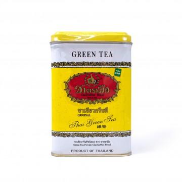 CHATRAMUE - Thai Green Tea Bags (Yellow Tin) 2.5gx50 Sachets
