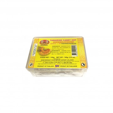DOUBLE SEAHORSE -  TAMARIND CANDY HOT 100G