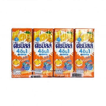 DUTCH MILL - Orange Yoghurt Drink (180ml x 4)