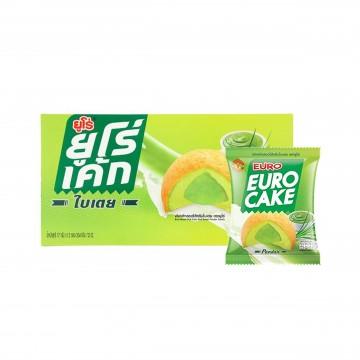 EURO - Puff Cake and Sweet Pandan Cream 17g x 12 pcs