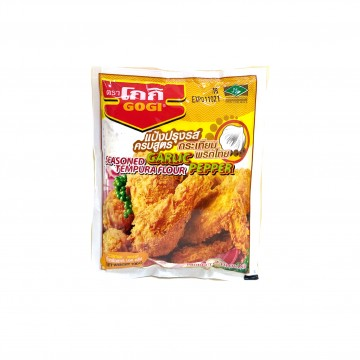 GOGI - Seasoned Garlic Pepper Tempura Flour 100g