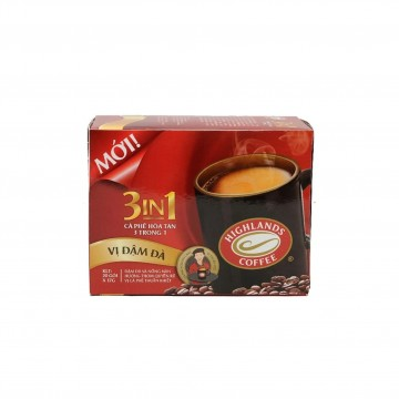 HIGHLANDS COFFEE - 3 IN 1 COFFEE (BOX) 17G X 20 SACHETS