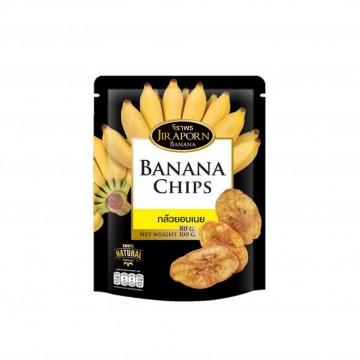 JIRAPORN - Banana Chips 80g