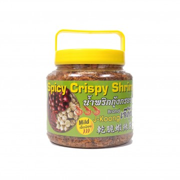 J-KOONG - Spicy Crispy Shrimps Less Spicy (Yellow) 270g