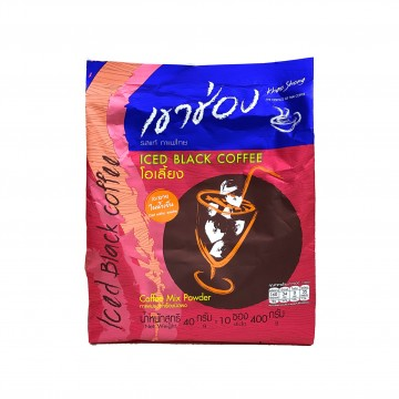 KHAO SHONG - 3 in 1 Ice Black Coffee (40g x 10 sticks)