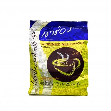 KHAO SHONG - 3 in 1 Coffee Mix Condensed Milk (21g x 20 sticks)