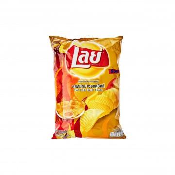 LAY'S - Hot Chilli Squid Potato Chips 50g