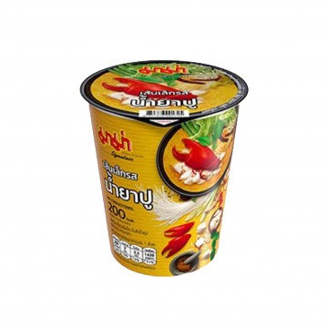 MAMA - Instant Cup Rice Noodles (Crab Curry Flavour) 60g