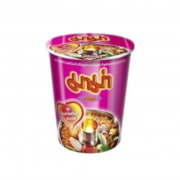 MAMA - Instant Cup Noodles (Yentafo Tom Yum Mohfai Flavour) 60g