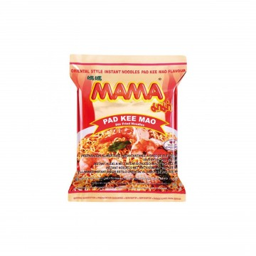 MAMA - DRIED INSTANT NOODLES (PAD KEE MAO FLAVOUR) 60G X 5 Packets