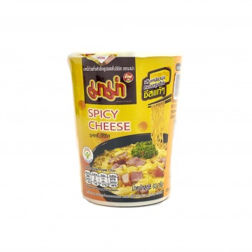 MAMA - Instant Cup Noodles (DRY/Spicy Cheese Flavour) 63g