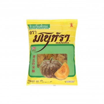 MANORA - UNCOOKED PUMPKINS CHIPS (FRY FRESH AT HOME) 500G