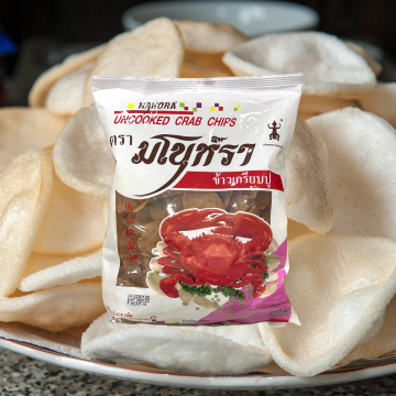 MANORA - UNCOOKED CRAB CHIPS (FRY FRESH AT HOME) 500G