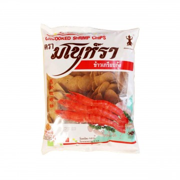MANORA - UNCOOKED SHRIMP CHIPS (FRY FRESH AT HOME) 500G