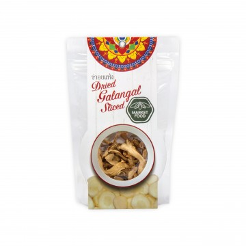 MARKET FOOD - AUTHENTIC THAI HERB DRIED GALANGAL 30G