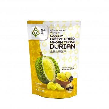 TRIPLE SIX PLUS - Vacuum Freeze-Dried Mhorn Thong Durian 100g